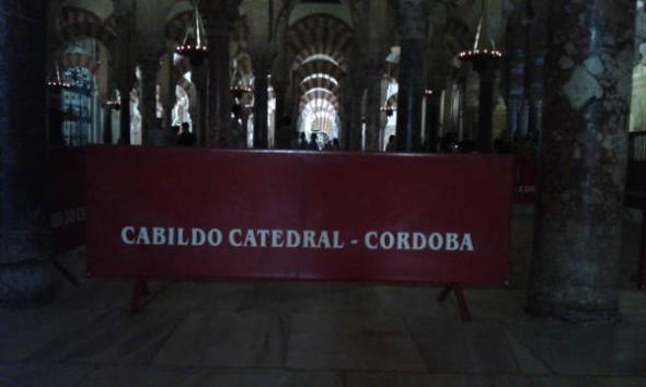 mezquita Córdoba cabildo catedral