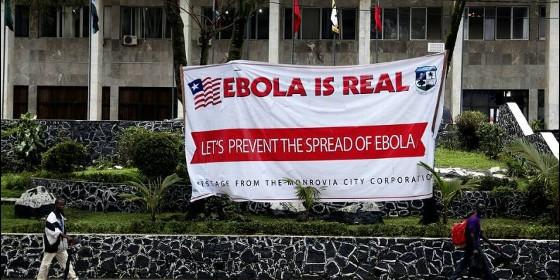ébola castigo divino Liberia 2014