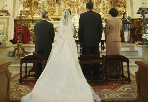 boda religiosa católica