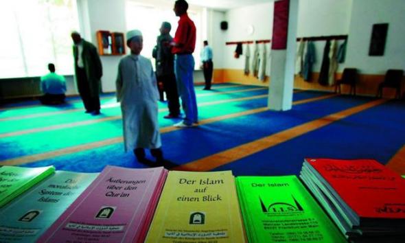 musulmanes mezquita Hamburgo