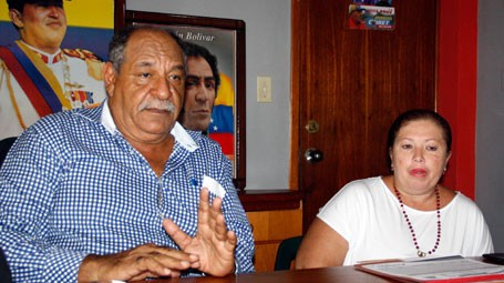 Cruz Lairet alcalde Venezuela Virgen 60 m