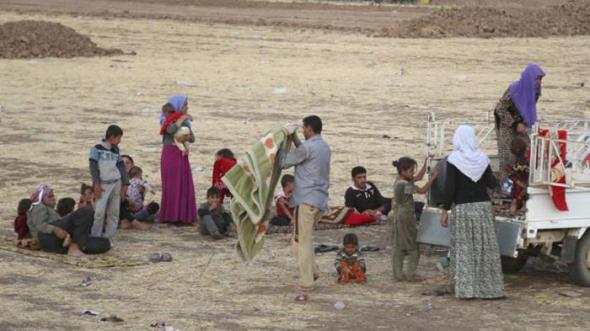 yezidies perseguidos Irak 2014