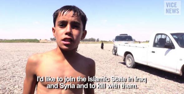 Daoud 14 años yihadista ISIS