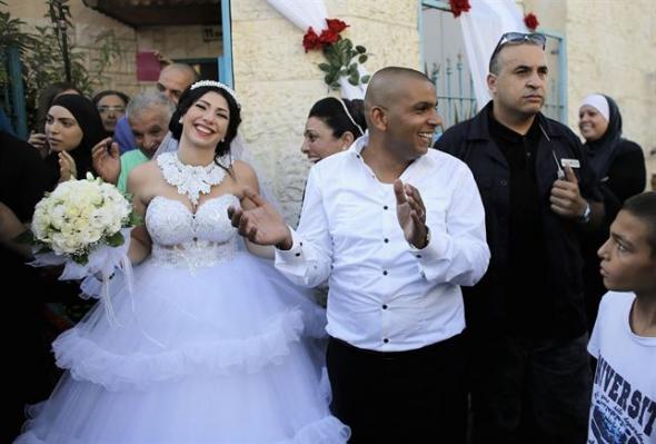 boda judía con musulmán