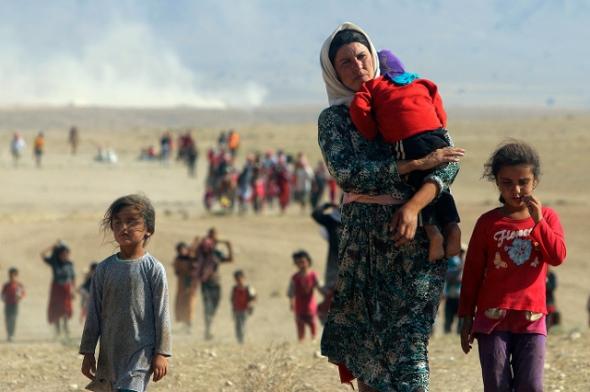 refugiados Irak 2014