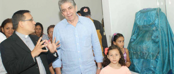 museo Divina Pastora alcalde Venezuela 2014