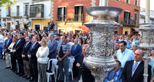 Alcaldesa Jerez en misa iglesia Santiago 2014
