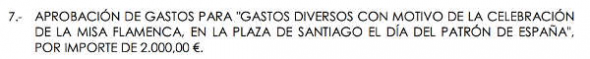 partida municipal misa Jerez 2014