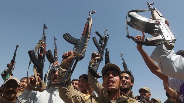 Milicias chiíes en Diyala 2014