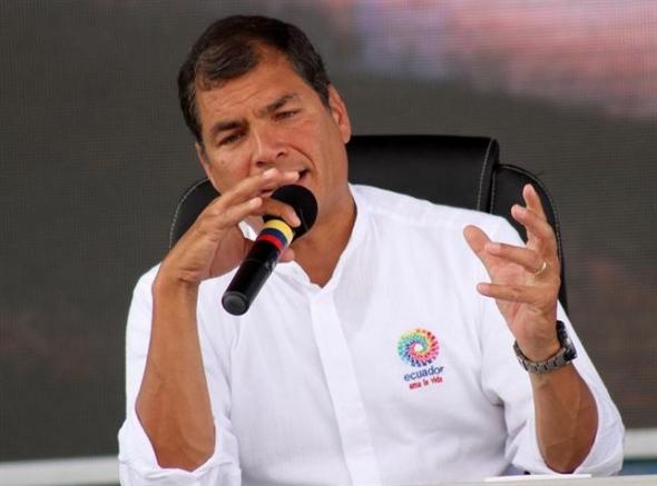 Raffael Correa presidente Ecuador 2014