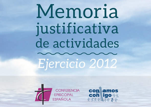 Memoria justificativa CEE 2012