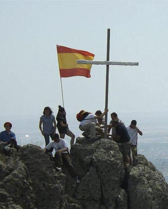 cruces en las cumbres