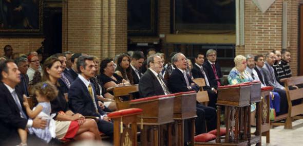 autoridades misa patrona Valladolid 2014