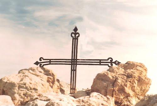 cruz en el Teide