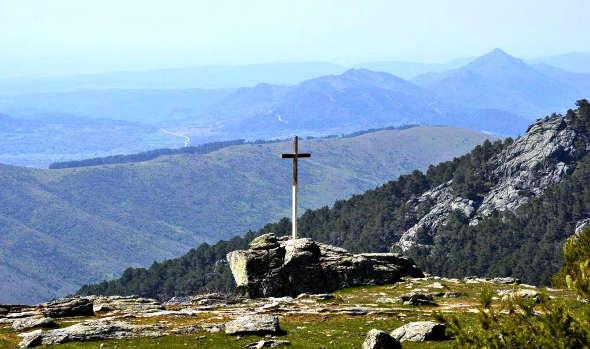 Cruz monte  Abantos El Escorial