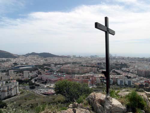 cruz monte Coronado en Málaga