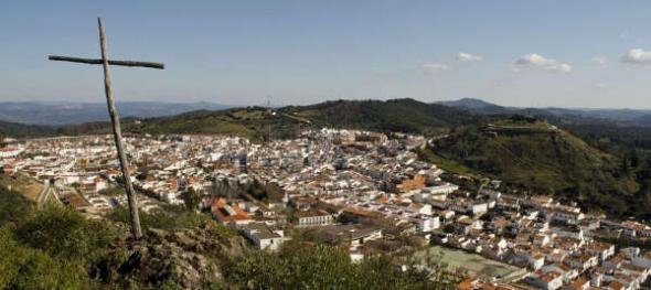 cruz Monte de la Cruz en Aracena Huelva