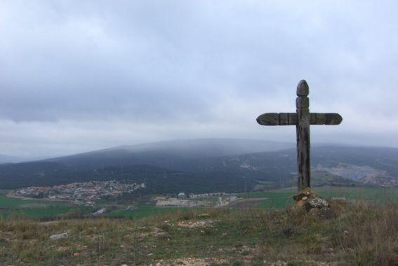 cruz monte Jundiz en Álava