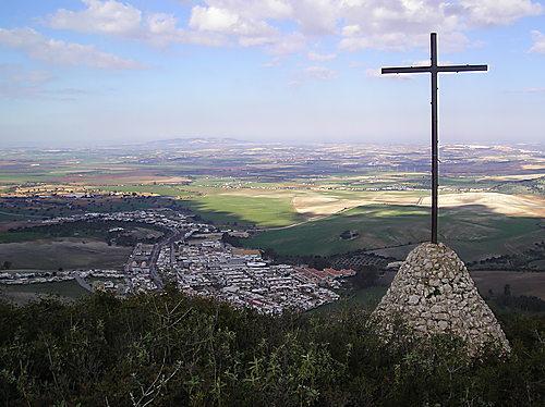 Monte de la Cruz en Cádiz