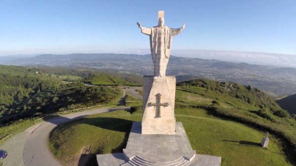 Cristo en Monte Naranco Asturias