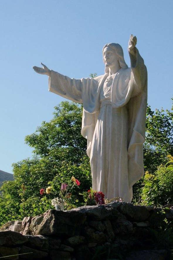 Cristo en San Sebastian de Garabandal Cantabria
