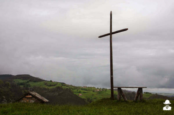 Cruz de Monte Castillo en Cantabria 2014