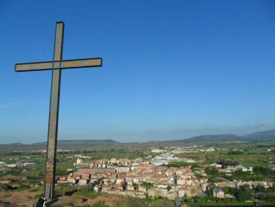 Cruz de Malpica en Nájera, La Rioja
