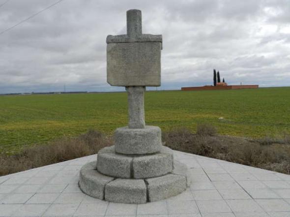 Cruz del Reto en Cantiveros (Ávila)
