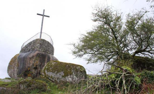 Cruz Monte Lobeira en Vilanova de Arousa Pontevedra