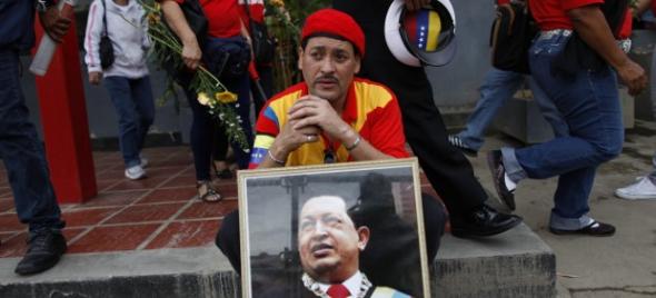 simpatizante Chávez Venezuela