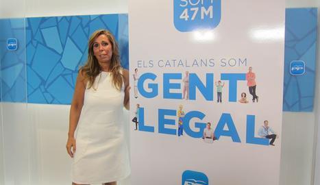Alicia Sánchez PP Catalunya
