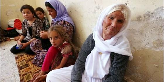 Mujeres yazidíes.