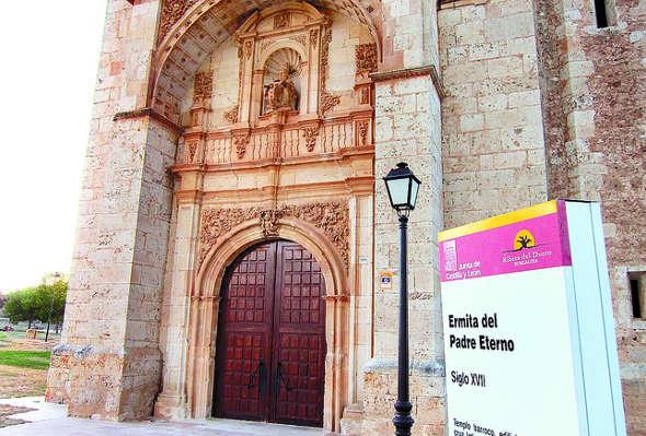 Ermita del Padre Eterno en Fuentespina Burgos