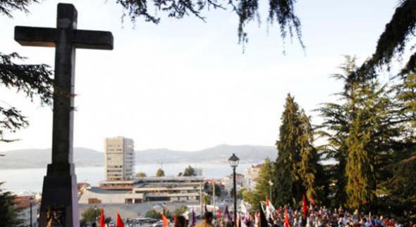 cruz de O Castro en Vigo