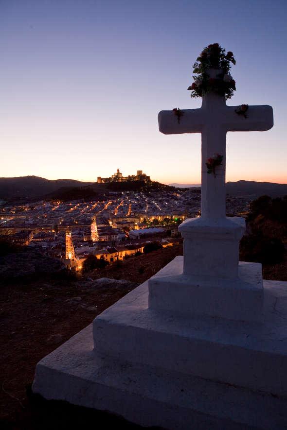 Cruz del Barrio de las Cruces de Alcalá la Real (Jaén)
