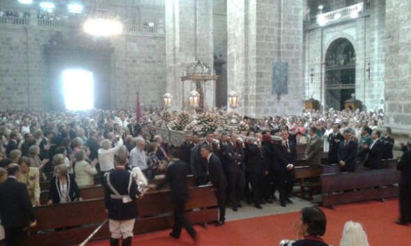 virgen san Lorenzo Valladolid 2014