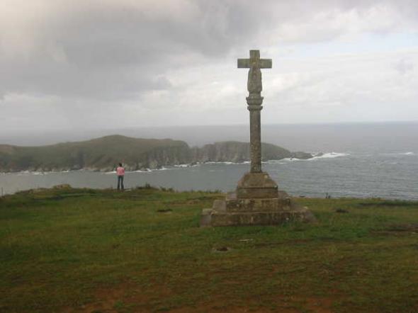 Cruz en Cedeira (A Coruña)
