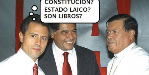 fin Estado laico México
