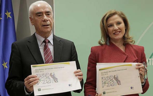 Consejero y Secretaria General Educación Andalucía