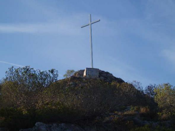 Cruz en Cullera (Valencia)