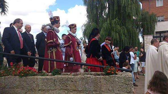 voto a la virgen en Carrión - Palencia 2014