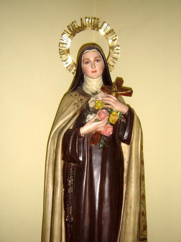 Santa Teresita en una escuela pública argentina
