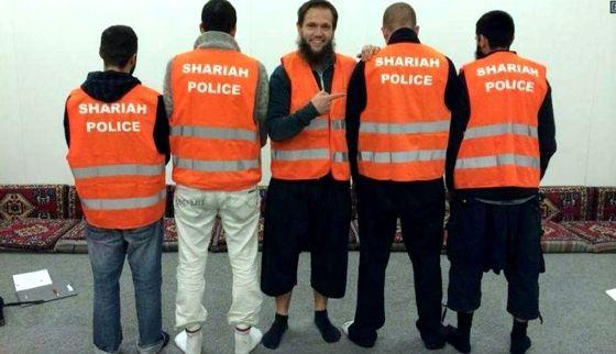 policia sharia Alemania 2014
