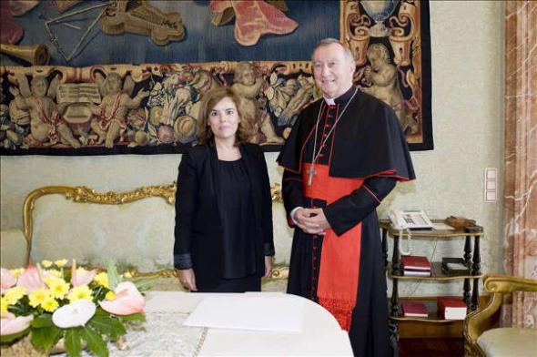 Soraya en el Vaticano 2014