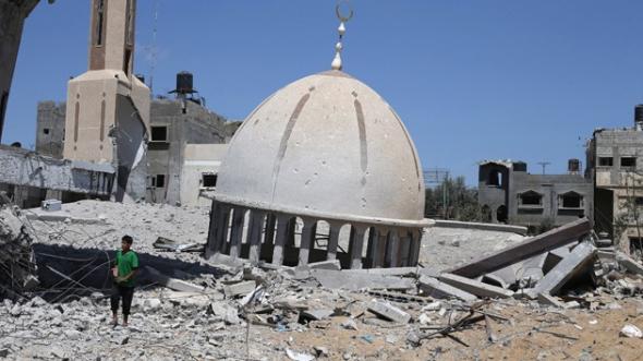 mezquitas Gaza 2014