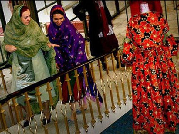 mujeres con velo en Irán 2014
