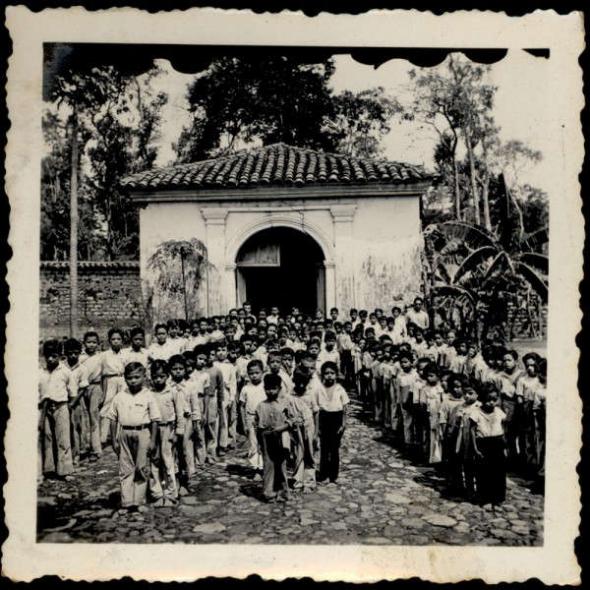 Niños escuela en El Salvador
