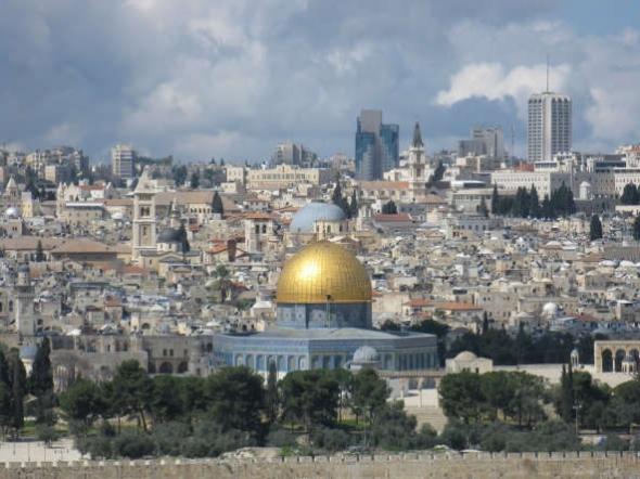Jerusalén y los santos lugares