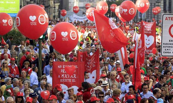 mani antiaborto Madrid 2012