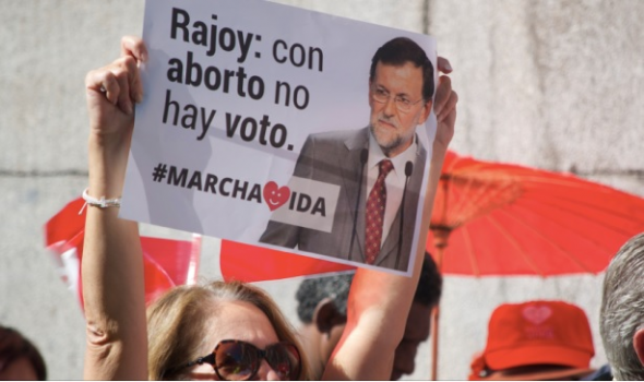 mani anti aborto Madrid 2014